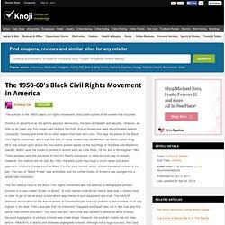 civil rights movement in usa