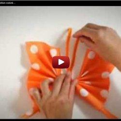 Pliage De Serviette En Papier Papillon Colore Labelleadresse Com