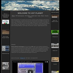 VSTPLANET - VST Plugins Free - Virtual instruments and effects