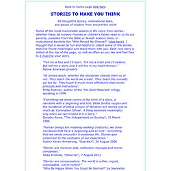creative writing stories ideas