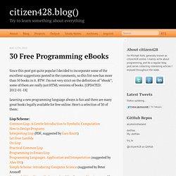 Erlang Programming Ebook