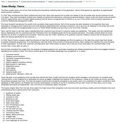 CRM- Tesco case study   Pearltrees