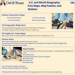 Maps and atlases pearltrees us and world maps and puzzles free maps that teach gumiabroncs Gallery