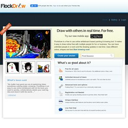 FlockDraw - Free Online Drawing Tool - Collaborative Group ...