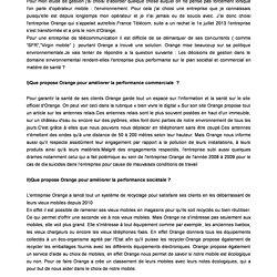Etude De Gestion France Telecom Orange Pearltrees