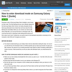 How to root galaxy note 2   Pearltrees