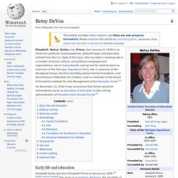Betsy DeVos - Wikipedia 752359923ab9