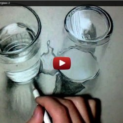Glass water transparent drawing | Pearltrees