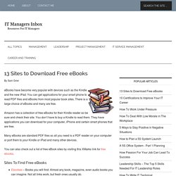 Ebooks free download | Pearltrees