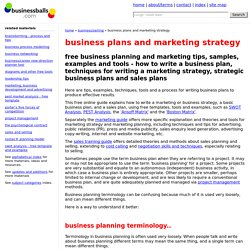 How to write a business strategy