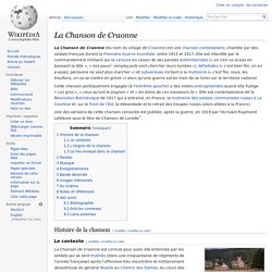 chanson engagee wikipedia