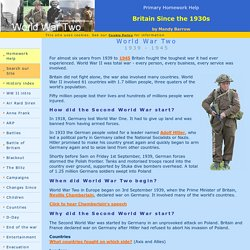 World War    facts for kids   National Geographic Kids World war   facts for kids homework