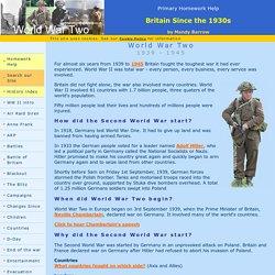 World war 2 homework for kids