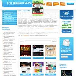 illustrator web templates