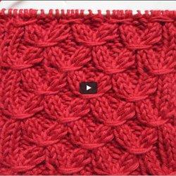 Comment tricoter des smocks - Point tricot facile joli ...