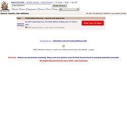 Piratage: incertitudes sur l'avenir du site de liens bittorrent.