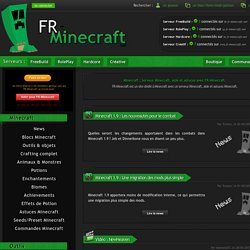 Minecraft Actualite Minecraft Aide Et Astuces Avec Fr Minecraft