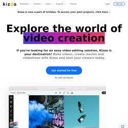 kizoa montage video / photo diaporama (gratuit)