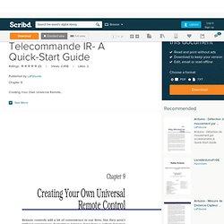Hack-TV - Guide TV + télécommande Arduino | Pearltrees