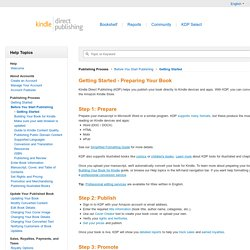 How to self-publish an ebook   Pearltrees