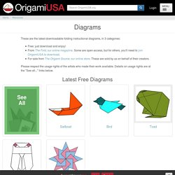 Origami Tessellations Diagrams For Download