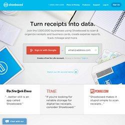 Online Receipt Business Card Management System