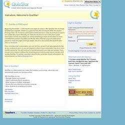 quizstar login QuizStar Instructor Login   Pearltrees
