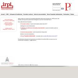 Recherche propriété intellectuelle