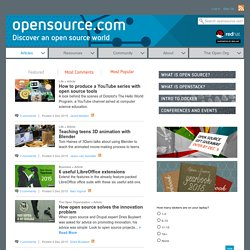Open Source Goodness | Pearltrees