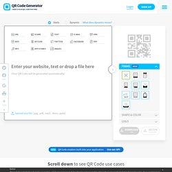 QR Code Generator - Create QR codes here | Pearltrees