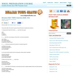 TOEFL EXER to practice | Pearltrees