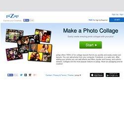 Pizap: amusing free photo editor for facebook pics.