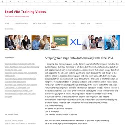 Excel VBA Lessons | Pearltrees