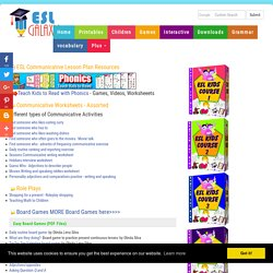 Speaking and icebreaker activities for ESL Teachers:eslflow webguide