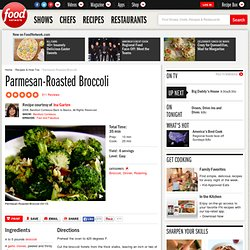 parmesan-roasted broccoli recipe : ina garten | pearltrees