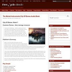 the mortal instruments city of bones audiobook part 1