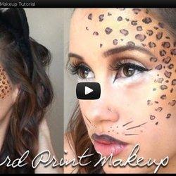 0ba3ceb06e3c Leopard Print Halloween Makeup Tutorial