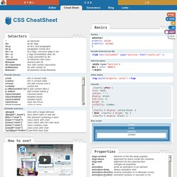 HTML et CSS | Pearltrees