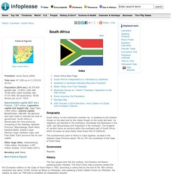 south africa maps history geography