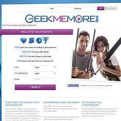 rencontre geek geekette