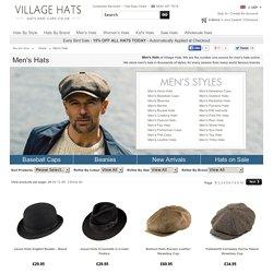 Mens Hats - Buy Hats for Men online at Village Hats. c00da9a8c41