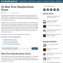 Download Free Fonts for Mac, Android, Windows   Pearltrees