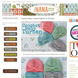 eca6fba3427 Crochet Baby Turban Pattern   Tutorial