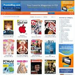 Pdf photo magazine