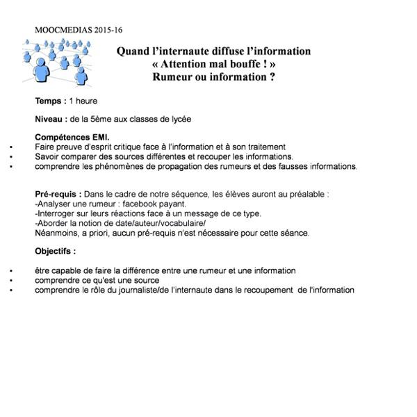 Fiche4.Rumeurouinformationmailmalbouffe