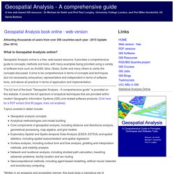 geospatial analysis spatial and gis analysis techniques and gis rh pearltrees com geospatial analysis a comprehensive guide to principles techniques and software tools Geospatial Icon