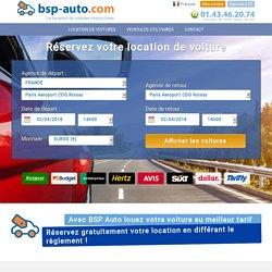 Location de voiture bsp