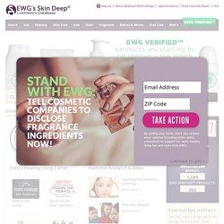 Skin Deep® Cosmetics Database   Pearltrees