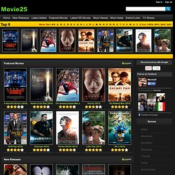 Best site for watching latest hollywood online free movies