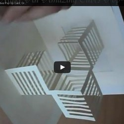 Make An Amazing Cubes Pop Up Card Origamic Architecture